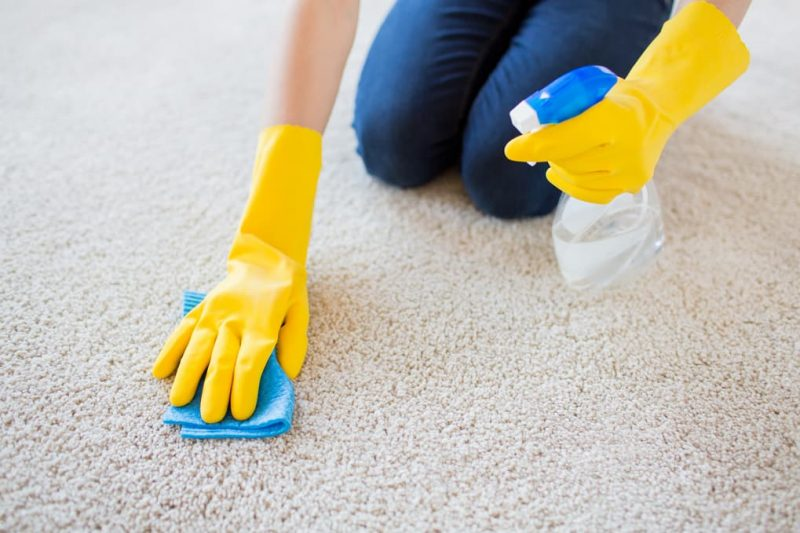 best way to remove odors from carpet