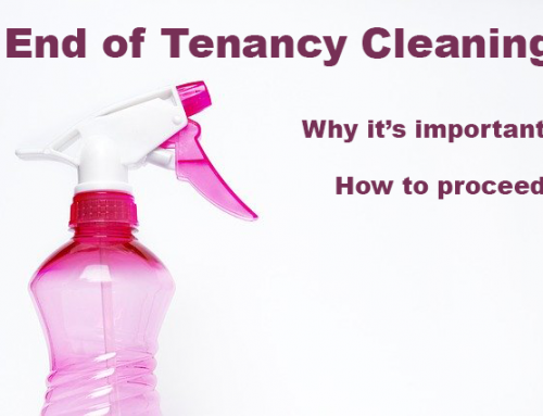 End of Tenancy Cleaning and Why It Is So Important